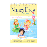 Pool Party Puzzler, Nancy Drew Clue Book, Book 1, by Carolyn Keene and Peter Francis, Paperback