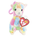 Ty Beanie Boos, Lola the Llama Clip Stuffed Animal, Rainbow, 5 inches