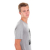 NOTW, Bold Lion, Men's Short Sleeve T-shirt, Athletic Grey, Small