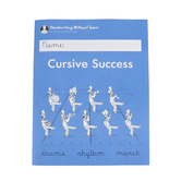 Handwriting Without Tears, Cursive Success Student Lesson Book, Paperback, Grade 4