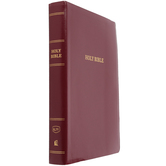KJV Super Giant Print Reference Bible, Imitation Leather, Multiple Colors Available