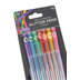 Brother Sister Design Studio, Fruit-Scented Glitter Pens, Assorted Colors, Pack of 7