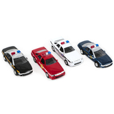 Toysmith, Die-Cast Pull-Back Patrol Car, Assorted Styles, Ages 3 and up, 1 Each