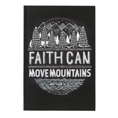 SoulScripts, Matthew 21:21 Faith Can Move Mountains, Paperback Journal, 5 1/2 x 8 inches, 80 Pages