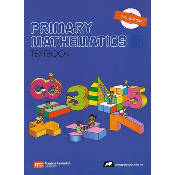Singapore Math, Primary Math Textbook 6B, U.S. Edition, Paperback, 120 Pages, Grades 6-7