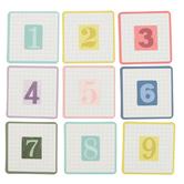Farmhouse Lane Collection, Calendar Days, 2.5 x 2.5 Inches, 7 Designs, 36 Pieces