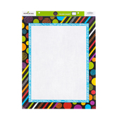 Chalk Talk Collection, Customizable Blank Chart, 17 x 22 Inches, Multi-Colored, 1 Each