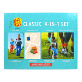 Take Five, Classic 4-In-1 Set, 18 Piece Set, Ages 5 and Older, 2 or More Players