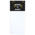Meow Or Never Magnetic Notepad, Black & Gold, 9 x 4 inches, 80 Pages