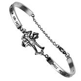 Spirit & Truth, Praise CZ Cross Bracelet,