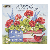 The Lang Companies, Susan Winget Old Glory 2022 Wall Calendar, 13 1/2 x 24 inches