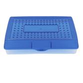Storex, Large Pencil Case, Plastic, 5 1/2 x 13 1/2 x 2 1/2 inches
