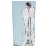 Renewing Faith, Tall Angel Wall Art, Canvas, 10 x 20 inches