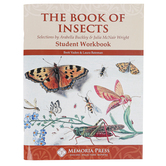 Memoria Press, The Book of Insects Student Workbook, Paperback, 81 Pages, Grades 4-6