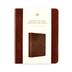 ESV Single Column Journaling Bible, Leaves Design, TruTone, Chestnut