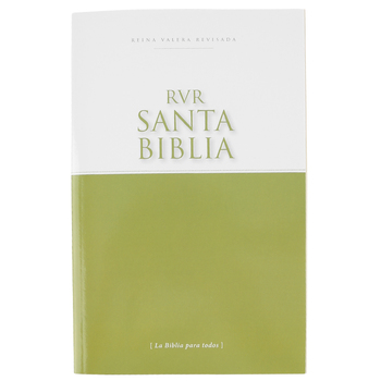 RVR Economy Outreach Spanish Bible, Paperback