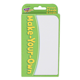 TREND enterprises, Inc., Make-Your-Own Pocket Flash Cards, 56 Cards, White, 3 1/8 x 5 1/4 inches