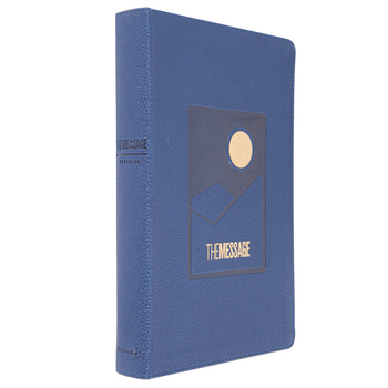 MSG The Message Deluxe Gift Bible, Large Print, Imitation Leather, Multiple Colors Available