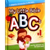 My Little Bible ABC's, by Jodie Shepard, Board Book