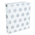 Samsill, Metallic Dot 3-Ring Binder, Assorted Colors, 10 x 1 x 11 1/2 inches