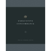 ESV Exhaustive Concordance, by Crossway, Hardcover