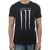 Red Letter 9, Forgiven Nail, Men's Short Sleeve T-Shirt, Black Heather, Small