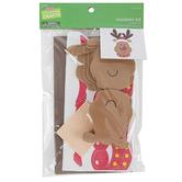 Brother Sister Design Studio, Christmas Crafts, Reindeer Foam Craft Kit, 144 Pieces, Makes 12