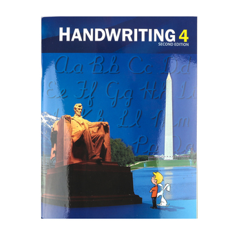 BJU Press, Handwriting 4 Student Worktext (2nd Edition)