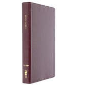 NASB Classic Reference Bible, Bonded Leather, Burgundy