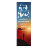 Salt & Light, John 3:16 For God So Loved Bookmarks, 2 x 6 inches, 25 Bookmarks