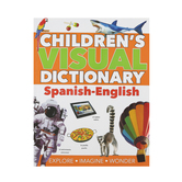 Barron's, Children's Visual Dictionary Spanish-English, Paperback, Grades 3-5