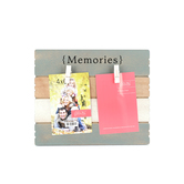 Memories Photo Clip Board, 2 Photo Clips