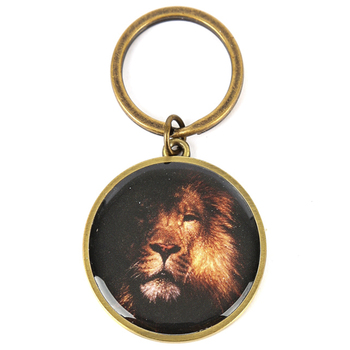 Be Strong In The Lord Lion Keyring