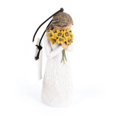 Willow Tree, Warm Embrace Ornament, by Susan Lordi, Resin, 4 Inches