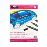 Royal & Langnickel, Color Marker Artist Pad, 9 x 12 Inches, 40 Sheets