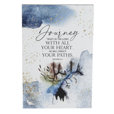 Dexsa, Proverbs 3:5-6 Journey Tabletop Plaque, MDF, 6 x 9 inches