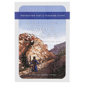 Well-Trained Mind Press, Telling God's Story Year Three Teacher Guide, Paperback, 136 Pages, Grade 3