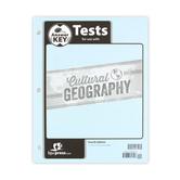 BJU Press, Cultural Geography Tests Answer Key, 4th Edition, Grade 9
