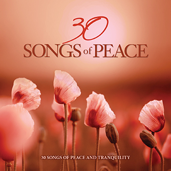 30 Songs Of Peace, by Various Artists, 2 CD Set