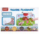Smart Play, On The Farm Talking Placemat, 11 x 17 inches, Ages 2 & Older
