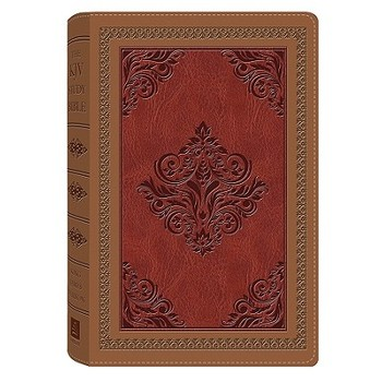 KJV Study Bible, Duo-Tone, Red and Camel