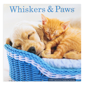 DaySpring, Whisker & Paws 2022 Wall Calendar, 12 x 12 inches