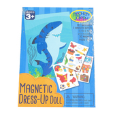 Stephen Joseph, Shark Magnetic Dress-Up Doll, 30 Pieces, Ages 3 and Older
