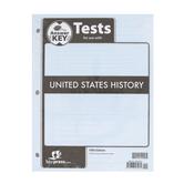 BJU Press, United States History Tests Answer Key, 5th Edition, Grade 11