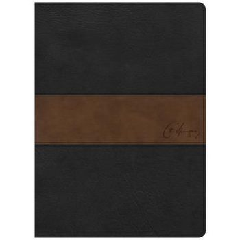 CSB Spurgeon Study Bible, Imitation Leather, Black and Brown