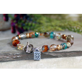 Collectables America, Prayer Box Beaded Toggle Bracelet