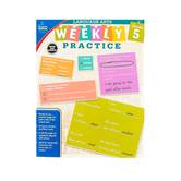 Carson Dellosa, Weekly Practice Language Arts Workbook, Grade 5, Paperback