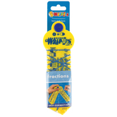 Learning Wrap-Ups, Fraction Wrap-Ups, Yellow, 1 Set