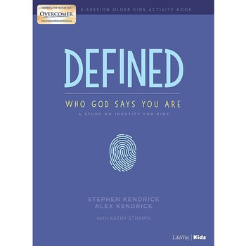 Defined: Older Kids Activity Book, by Stephen Kendrick, Alex Kendrick, and Kathy Strawn, Paperback