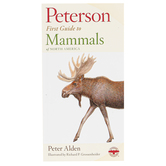 Peterson First Guide to Mammals of North America, Paperback, Grades 3-12 and adults